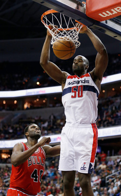 While Emeka Okafor is  the best defensive player for Washington, the Wizards could still use a backup center.