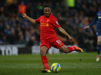 Sterling has drawn praise for his performances in a Liverpool shirt.