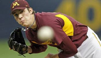 Tom Windle has pitchability but the stuff leaves something to be desired. Courtesy of University of Minnesota Athletics Communications