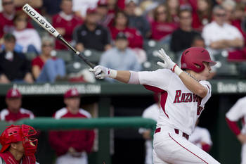 Arkansas' Dominic Ficociello could return to college as a way to rebuild his value next year. Courtesy of Razorbacks.com