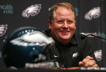 Chip Kelly might now be smiling after his team plays three games in 10 days.