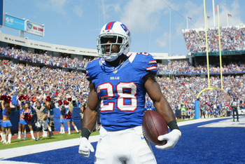 C.J. Spiller is a dynamic player that the Chiefs will have to limit to win the game against the Bills.