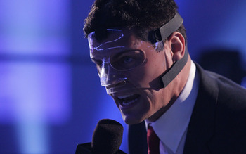 A lot of WWE Superstars don protective equipment for fake injuries. Cody Rhodes' infamous face mask, however, was legit. Photo Courtesy of WWE.com