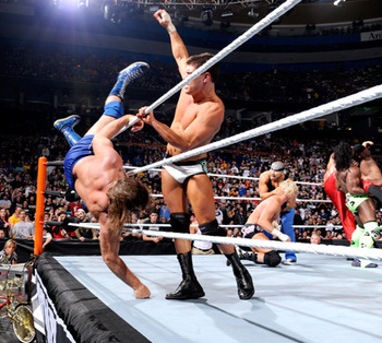 Rhodes has a history of putting on good shows at Royal Rumble. Photo Courtesy of WWE.com