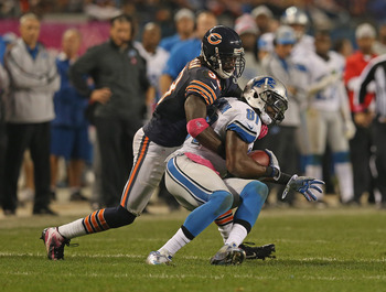 Charles Tillman is one of the few corners that can hang with Calvin Johnson.
