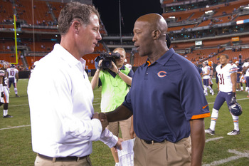 Pat Shurmur and Lovie Smith are both out as head coaches.