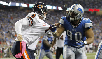 There's definitely animosity between the Bears and the Lions.