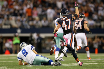 Romo had an awful game against the Bears in 2012.