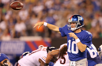 Eli Manning is much worse when he's pressured.