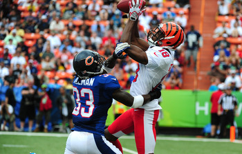 A.J. Green versus Charles Tillman in the Pro Bowl.