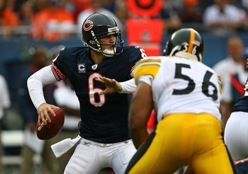 The Bears need to protect Jay Cutler from the Steelers' linemen and linebackers.