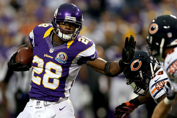 In a game that will feel more meaningful than the early season matchup, Adrian Peterson is a threat to take over.