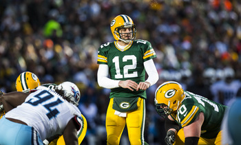 Aaron Rodgers has a tough schedule, but will he even notice?