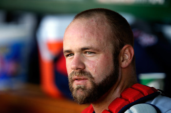 Evan Gattis has gone from being a janitor to catching for the best team in baseball.