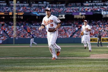 A hot start for Chris Davis has carried Baltimore's offense in 2013.