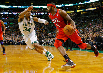 Josh Smith must refrain from launching deep two-pointers.