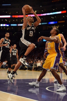 Tony Parker and the Spurs will look to run against the Lakers.