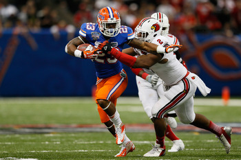 Florida's Mike Gillislee has some value as a likely Day 3 pick.