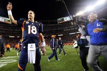 Peyton Manning almost always figures things out and beats you.