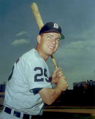Cash hit 20-plus home runs in 11 of his 17 major league seasons (Photo courtesy of sabr.org).