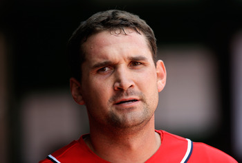 Once again, Ryan Zimmerman finds himself on the DL.