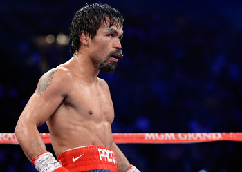 Pacquiao couldn't believe it.