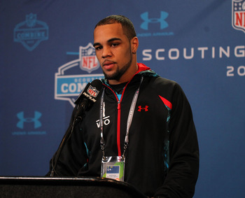 An ankle injury prevented California wide receiver Keenan Allen from working out at the NFL combine.