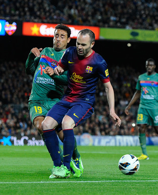 Andres Iniesta had one of his worst games for La Blaugrana