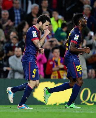 Cesc Dedicates His Goal to His Newborn Daughter