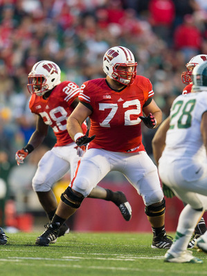 Wisconsin's Travis Frederick comes from a school known for making good linemen.