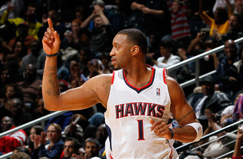 McGrady played well in his short stint with the Hawks.