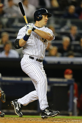 New York Yankees' designated hitter Travis Hafner.