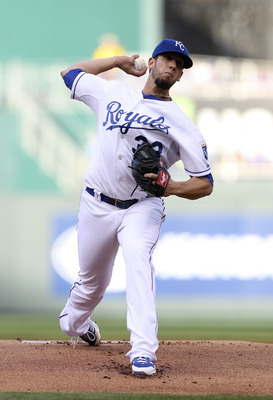 James Shields has helped move the Royals along.
