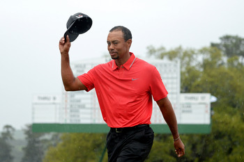 Tiger Woods looks forward to every major championship