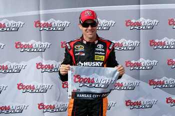 Matt Kenseth used the Coors Light pole, and the perks that come with it, to win at Kansas.
