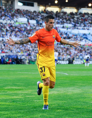 Cristian Tello has played well when called on for Barcelona. He should be on the Spanish National Team.