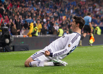 Alvaro Morata has a lot of potential and should be on the Spanish National Team one day.
