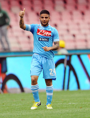 Lorenzo Insigne has a lot of talent and should represent Italy.