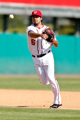 With Ryan Zimmerman on the disabled list and possibly battling the yips, Anthony Rendon, the Washington Nationals' prized prospect, could play a major role in 2013.
