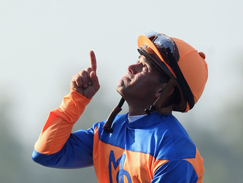 Javier Castellano, Revolutionary's jockey