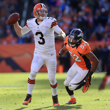 The Ravens have a rematch with the Browns on November 3.