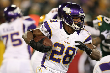 2012 MVP Adrian Peterson and the Vikings will face the Ravens on December 8.