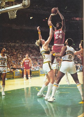 The inimitable Moses Malone and the Houston Rockets pulled off an upset for the ages.