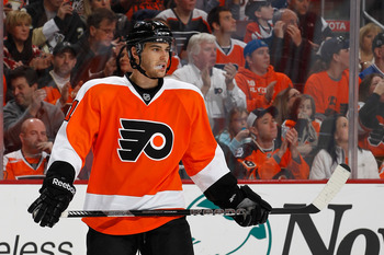 Laughton is a prototypical Philadelphia Flyer.