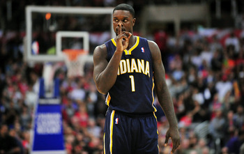 Lance Stephenson played beyond expectations during the regular season.