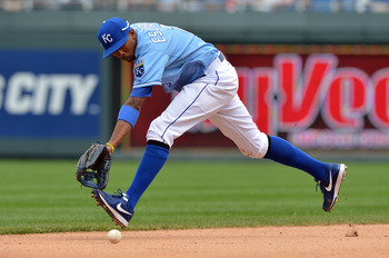 Alcides Escobar is one of the best fielding shortstops in the majors.