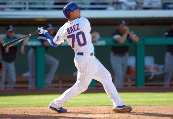 Javier Baez has the best pure bat speed in the minors.