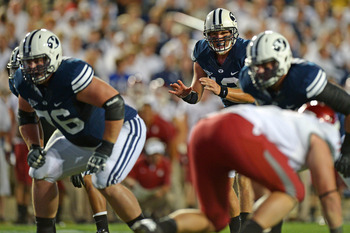 At BYU's pro day, Hansen posted impressive bench press numbers