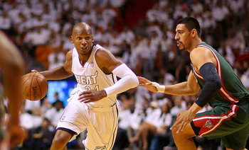 Ray Allen did more than shoot from outside in Game 1 against Milwaukee.