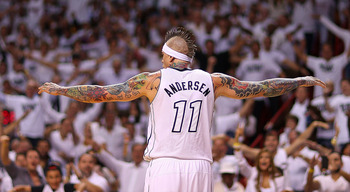 It didn't take long for Chris Andersen to become a fan favorite.